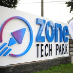 Zone Tech Park sign